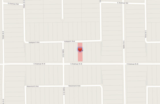 E Ave N 8 and Valeport Ave &#8211&#x3B; APN3069014017