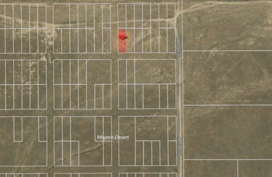 96th St. W and Lancaster Blvd. – APN3218030007
