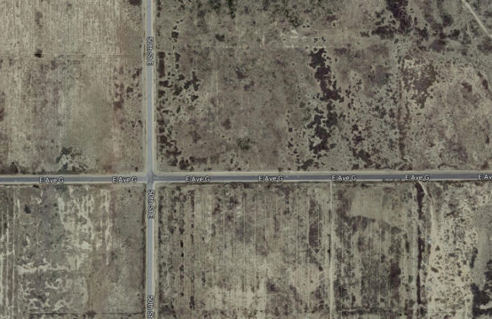 E Ave. G and 56th. St. E. &#8211&#x3B; APN3302021017